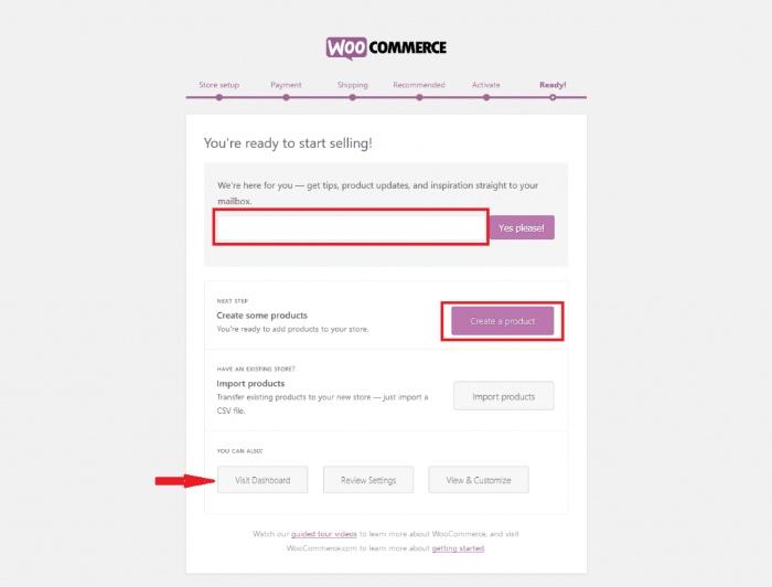 Cài đặt và kích hoạt WooCommerce