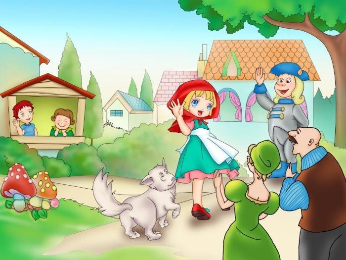 Mơ thấy cô bé quàng khăn đỏ và các nhân vật trong chuyện cổ tích đánh gì để trúng lớn?