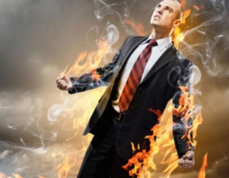 Chiêm bao thấy quần áo của mình bị cháy