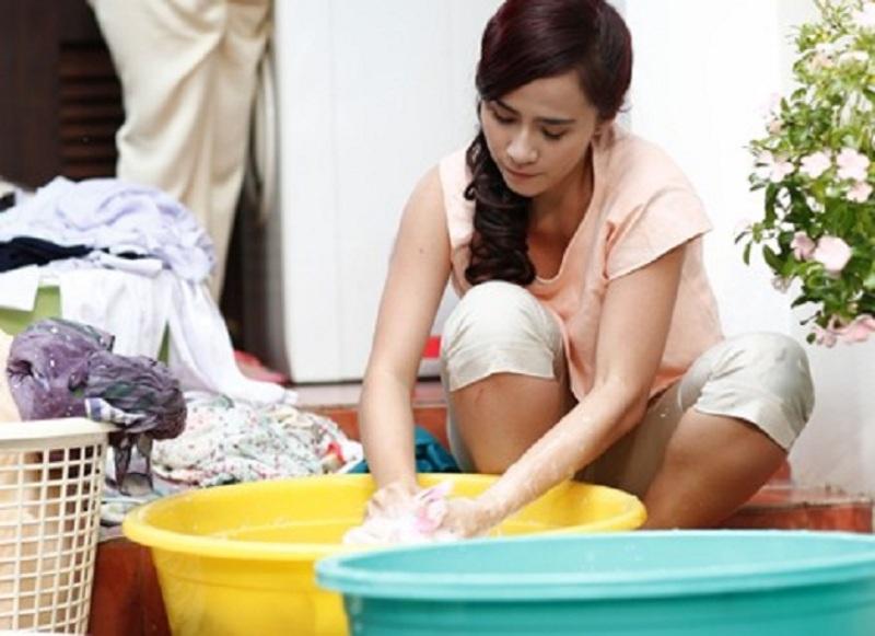 Những điều may mắn sẽ đến với bạn nếu mơ thấy đang giặt đồ.